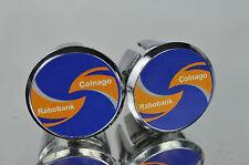 Colnago Rabobank team Handlebar Plugs endkappen endstopfen lenkerstopfen tappi
