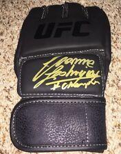Joanna Jedrzejczyk Signed UFC Glove inscribed # Champion with exact proof