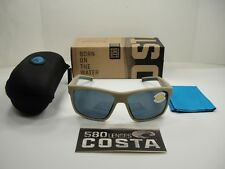 COSTA DEL MAR SLACK TIDE POLARIZED SLT248 OGP SUNGLASSES SAND/GRAY 580P LENS