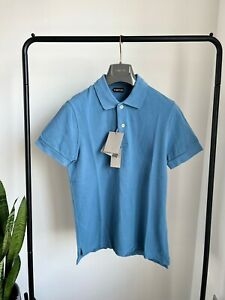 Tom Ford Men's Blue Polo Shirt Size 48 Brand New With Tags