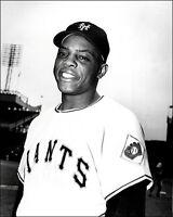 Willie Mays #9 Photo 8x10 - New York Giants