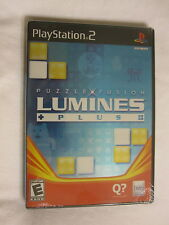 Lumines Plus Puzzle Fusion (Playstation PS2) Brand New, Sealed~
