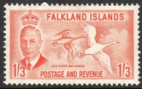Falkland Islands 1952 orange 1/3 mint SG181