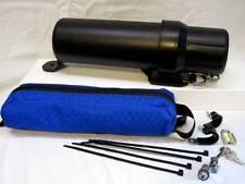 MotoLock Tube & Tender kit: Locking Canister TransAlp KTM Vstrom DRZ BMW DR650