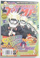 🔥Shonen Jump Naruto February 2009 Vol. 7 issues 2 # 74 Magazine + CARD iNSiDE