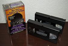1996 DAWN OF THE DEAD ORIGINAL DIRECTOR'S CUT HORROR MONSTER VHS CASSETTE 2-PACK