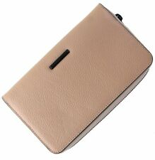 Rebecca Minkoff Regan Universal Smart Phone Leather Wristlet Wallet - Tan
