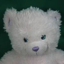 WHITE SPARKLE BUILD A BEAR HANNAH MONTANA PLUSH BABW STUFFED ANIMAL EMBROIDERED