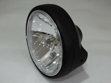 Clear Glass Headlight Black H4 DUCATI MONSTER 916 996 1000 Black Headlight
