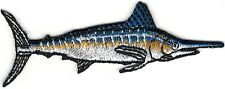 "3"" Marlin Sport Trophy Fish Embroidery Patch"