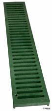 "2 Ft. Nds 242 Spee-D 4"" Channel Deck Drain Green Grate"