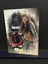 The Walking Dead Season 5 Walker Authentic Clothing Relic Card ( D ) Topps