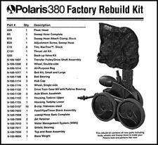 Polaris 380 Black Max Rebuild Kit 9-100-9035
