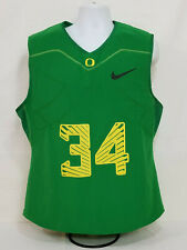 Oregon DUCKS Football TEAM ISSUED Nike Padded COMPRESSION SHIRT #34   MEN'S  4XL