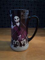 Disney NIGHTMARE BEFORE CHRISTMAS Jack Skellington Purple Mug Shock Lock Barrel