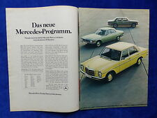 Mercedes 200D 230 280E - Werbeanzeige Reklame Advertisement 1973 __ (826