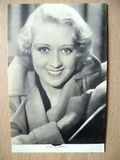 Film Actresses Postcard- JOAN BLONDELL ''Film Weekly No.2, London''