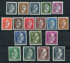 YUGOSLAVIA 1945 SLOVENIA MARIBOR LOCAL OVERPRINTS ON AH SET (18) PERFECT MNH