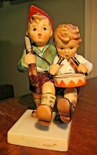 Goebel Hummel W Germany Figurine #50 2/0 Volunteers Boys Drum Rifle * Must See