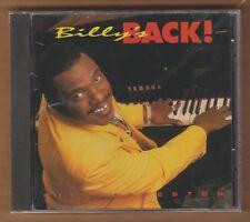 "BILLY PRESTON cd ""Billy's Back"" 1995 Prestige NEW Sealed 12 Tracks 733514051526"