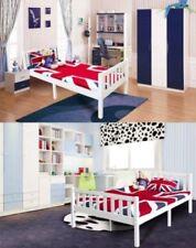 Cadres de lit et lits coffres modernes en pin pour la chambre à coucher