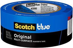 3M Scotch Blue Painters Masking Tape 2 in x 60 yd Multi-Surface #2090 Medium