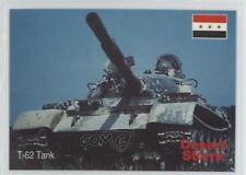 1991 DSI Desert Storm: Weapons & Specifications 47 T-62 Tank Non-Sports Card 4f0