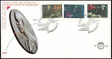 Netherlands 1991 Nobel Prize Winners FDC First Day Cover #C27985