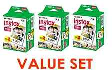 Fujifilm Instax Mini Instant Film, 3 Value Pack, 60 Sheets For Polaroid Camera