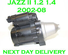 FITS Honda jazz MK2 (GD) 1.2 1.4 2002 03 2004 2005 2006 2007 2008 starter motor