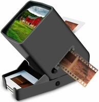 35mm Slide Viewer LED Transparency Viewer Slides&Film Negatives 3X Magnification