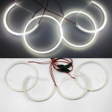 4X White LED SMD ANGEL EYES HALO RING Light bulb lamp kit  for LEXUS IS200 IS300