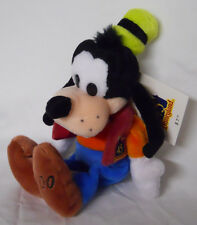 Disney Disneyland 45 Years of Magic Anniversary Goofy Mini Bean Bag-Beanie