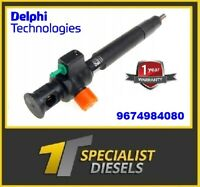NEW Delphi Diesel Injector 9674984080 DS7Q 9F593 BA - 28388960