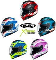 HJC C70 Koro Helmet Full Face Lightweight Inner Shield Pinlock Ready XS-2XL