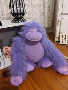 Purple Fur Orangutan  Animal Ape Plush Toys 46ish cm Tall