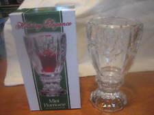 Holiday Elegance Mini Hurricane Candle Holder Lead Crystal - BRAND NEW