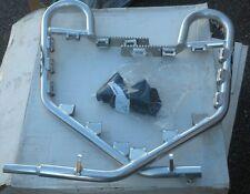 AC NERF BARS FOR SUZUKI LTR 450. ALUMINIUM FINISH W/ BLACK NETS