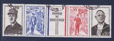 bande general de Gaulle 1971   num: 1695/98   oblitéré /1