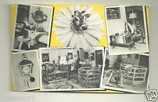 Borden Elsie the cow postcard 1952 Beauregard