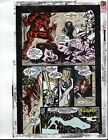 1993 Moon Knight 50 page 35 original Marvel Comics color guide comic art: 1990's