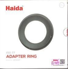 Haida 77mm Anillo adaptador para soporte del filtro haida 150 Serie