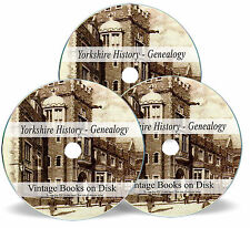 Rare Books Yorkshire History Genealogy DVD Parish Registers Births Marriages 280