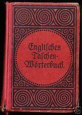 Englisch-Deutsches und Deutsch-Englisches Taschenwörterbuch, um 1925