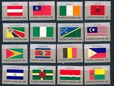 UNO New York 16 Flaggen der VN 1982  postfrisch komplett 391 - 414