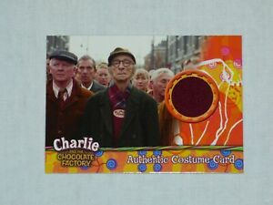 CHARLIE AND THE CHOCOLATE FACTORY #390/490 COSTUME CARD