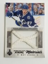 2015-16 sp game used hockey-J.Drouin net cord materials 25/25