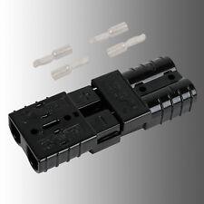 Satz Batteriestecker mit Kupplung Schwarz Anderson SB 50/Rema SR 50 A 14mm²