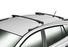 For 13-17 Toyota RAV4 Black Roof Rack Cross Bar Luggage Carrier Bar OE Style
