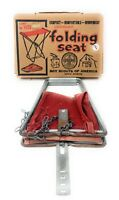 Vintage 70's Boy Scouts of America Folding Seat W/ Original Box OLD PAL